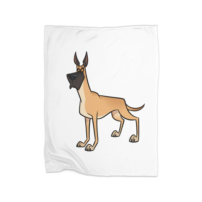 Great Dane Home Blanket by binarygod's Artist Shop