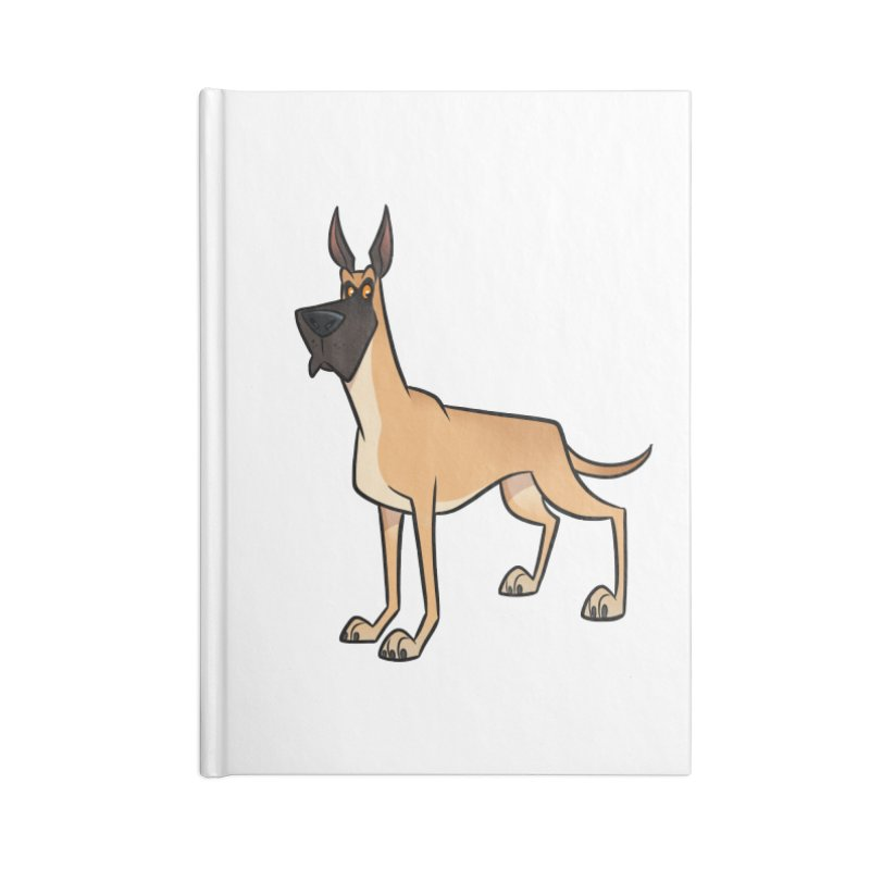 Great Dane Accessories Notebook by binarygod's Artist Shop