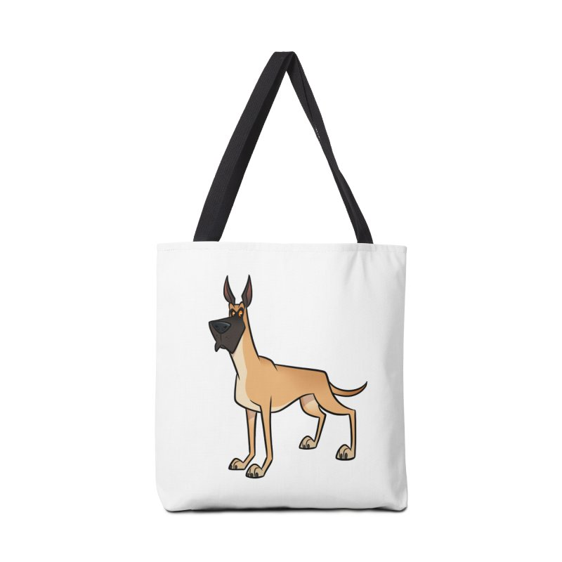 Great Dane Accessories Bag by binarygod's Artist Shop