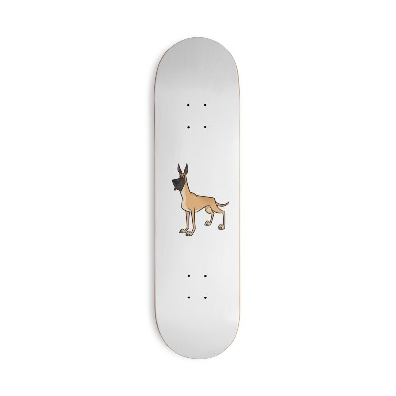 Great Dane Accessories Skateboard by binarygod's Artist Shop