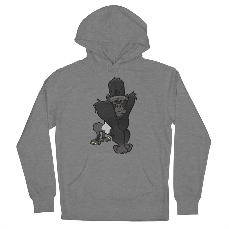 Silverback Mountain Gorilla Women's Pullover Hoody by binarygod's Artist Shop