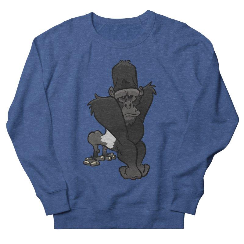 Silverback Mountain Gorilla Men's Sweatshirt by binarygod's Artist Shop
