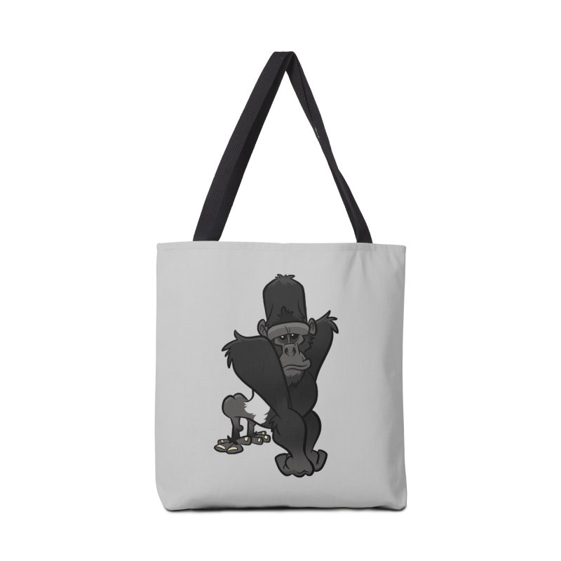 Silverback Mountain Gorilla Accessories Bag by binarygod's Artist Shop
