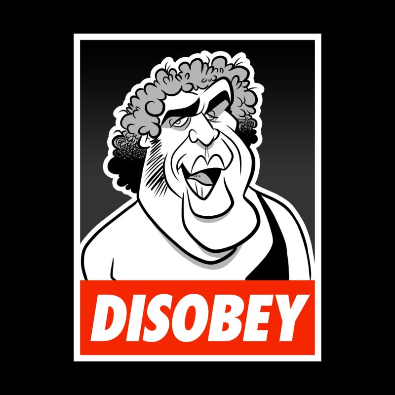 Disobey Giant Men's Sweatshirt by binarygod's Artist Shop