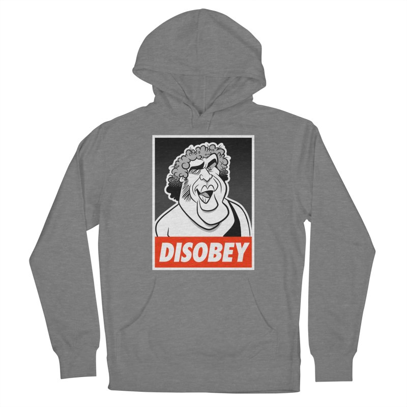Disobey Giant Women's Pullover Hoody by binarygod's Artist Shop