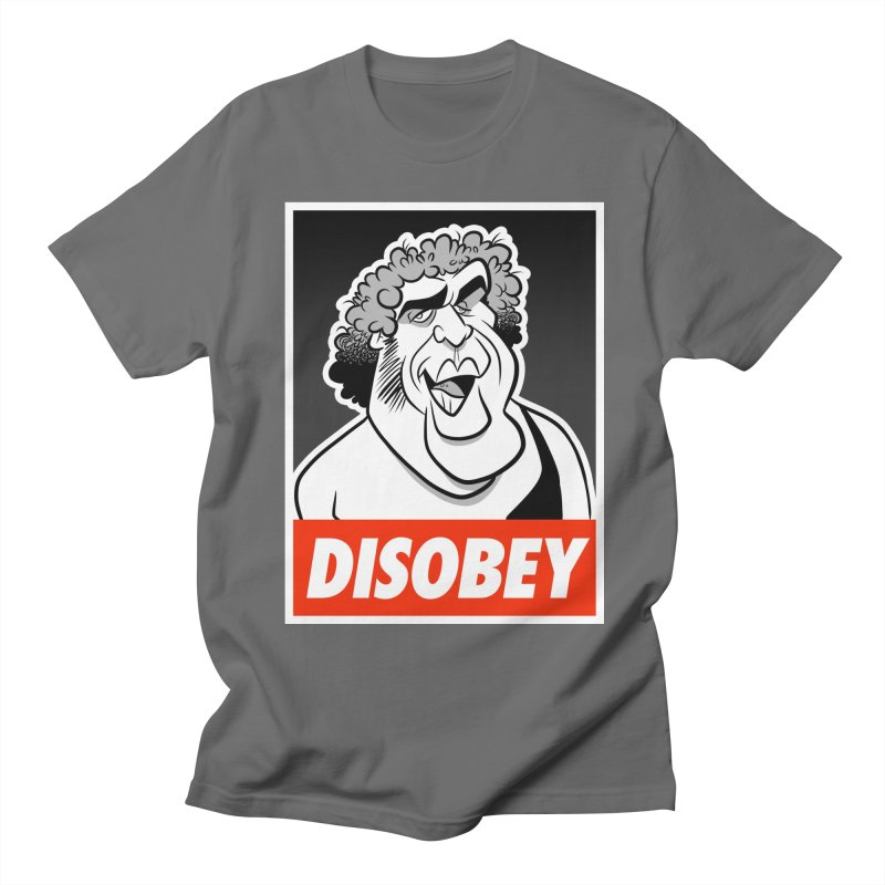 Disobey Giant Men's T-Shirt by binarygod's Artist Shop