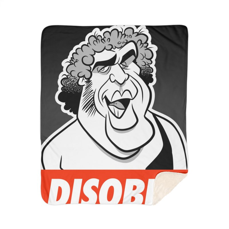 Disobey Giant Home Blanket by binarygod's Artist Shop