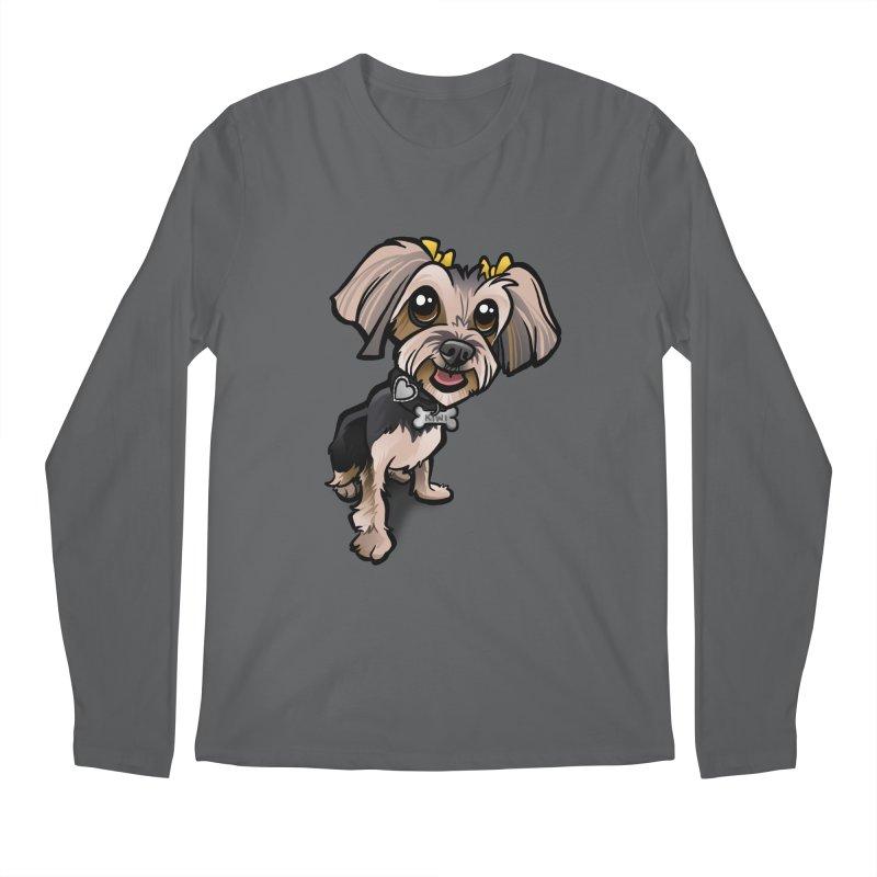 Yorkie Men's Longsleeve T-Shirt by binarygod's Artist Shop