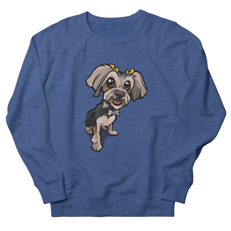 Yorkie Men's Sweatshirt by binarygod's Artist Shop