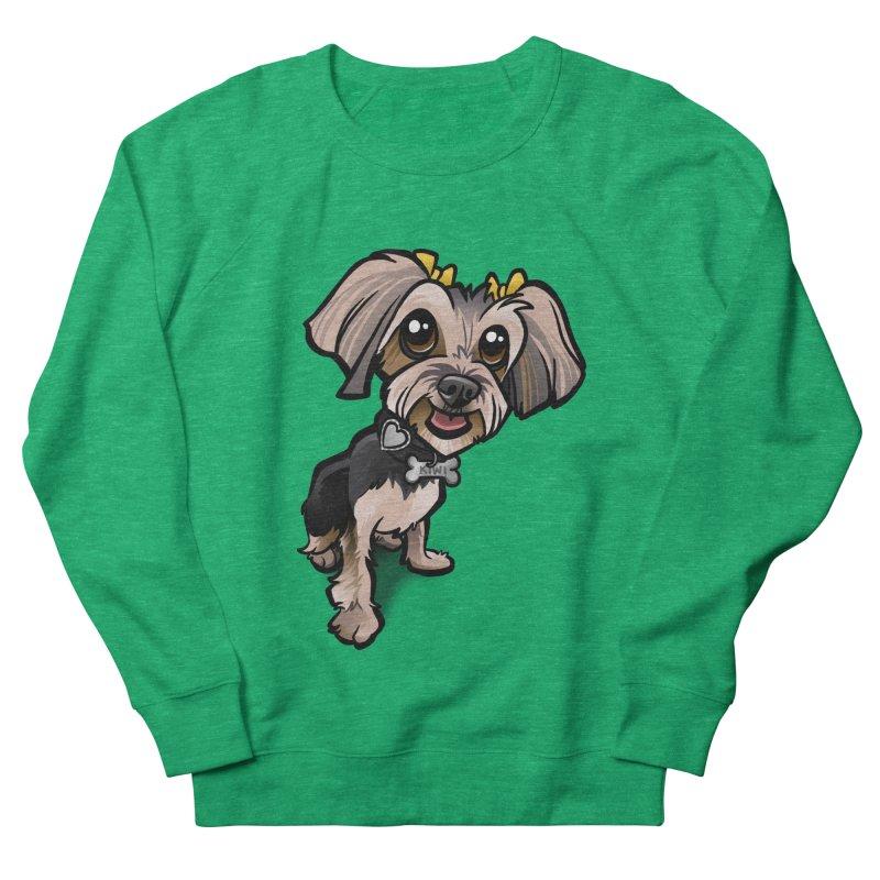 Yorkie Women's Sweatshirt by binarygod's Artist Shop