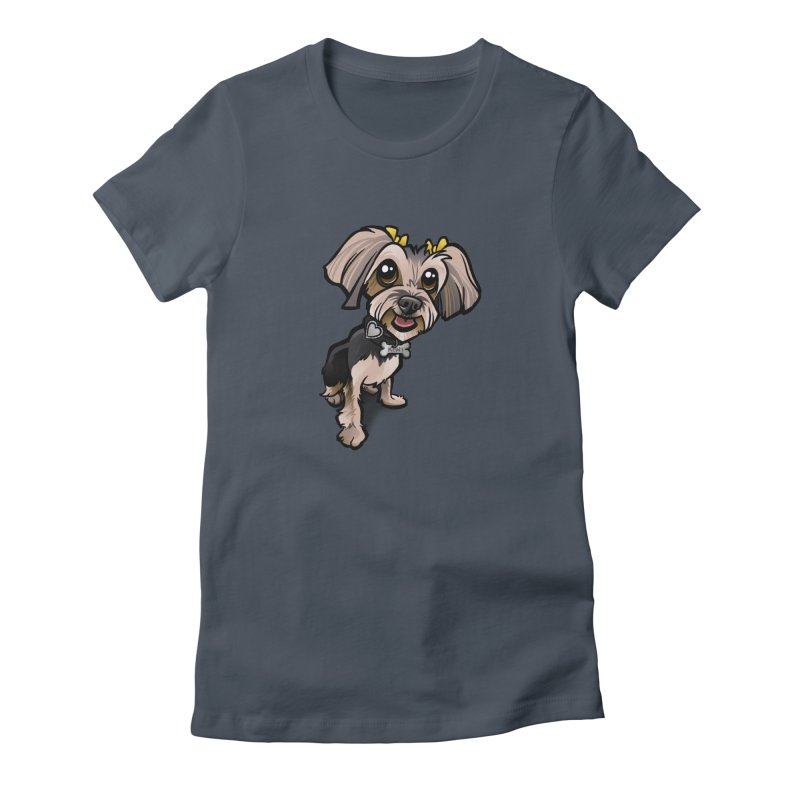 Yorkie Women's T-Shirt by binarygod's Artist Shop