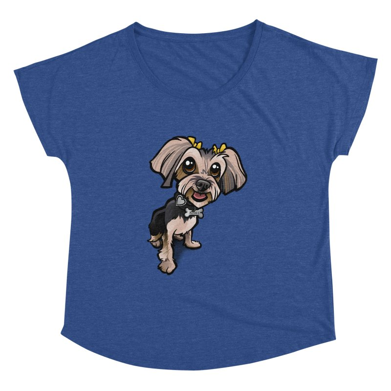 Yorkie Women's Dolman by binarygod's Artist Shop