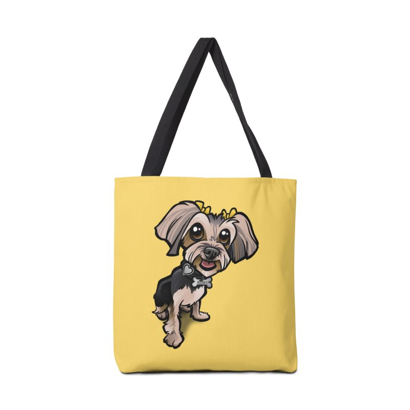 Yorkie Accessories Bag by binarygod's Artist Shop