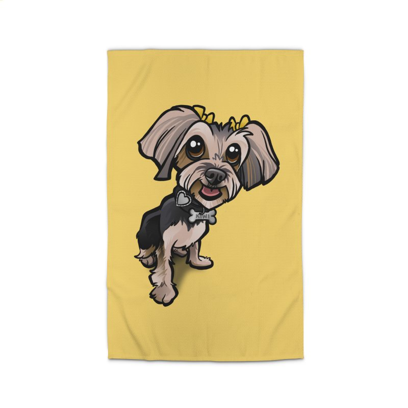 Yorkie Home Rug by binarygod's Artist Shop