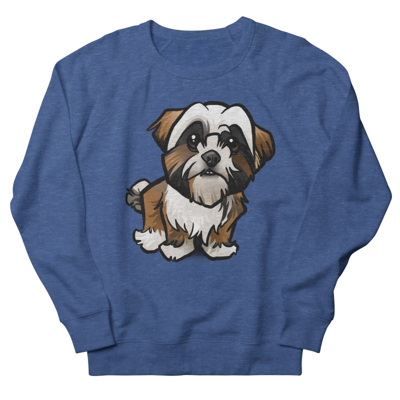 Shih Tzu Men's Sweatshirt by binarygod's Artist Shop