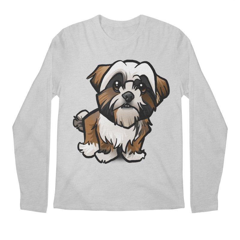 Shih Tzu Men's Longsleeve T-Shirt by binarygod's Artist Shop