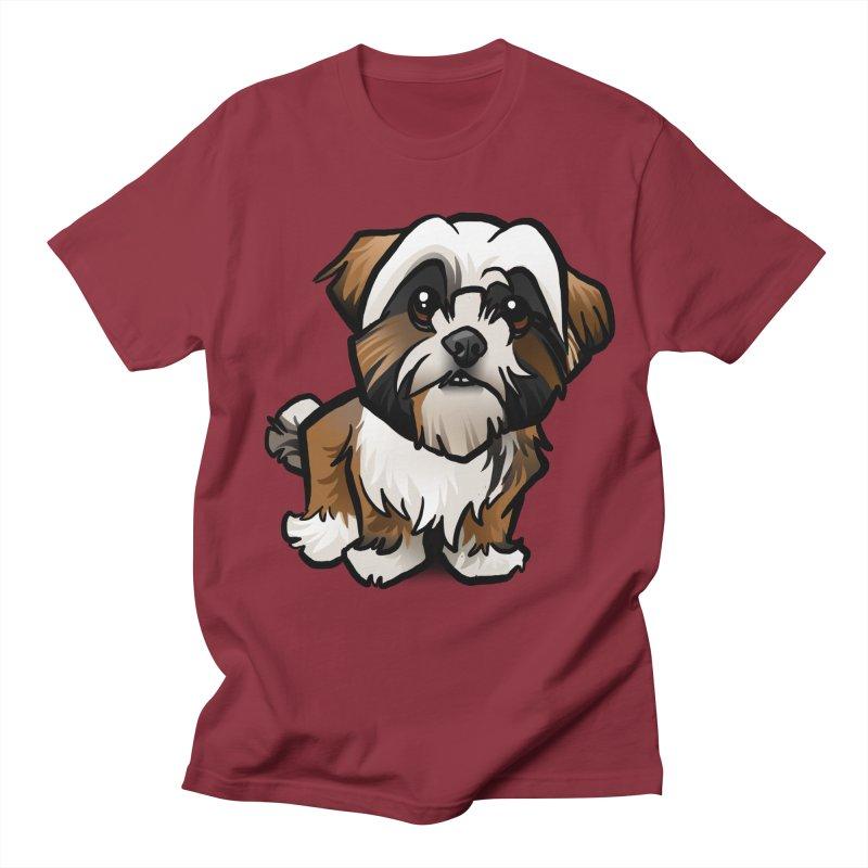Shih Tzu Women's Regular Unisex T-Shirt by binarygod's Artist Shop