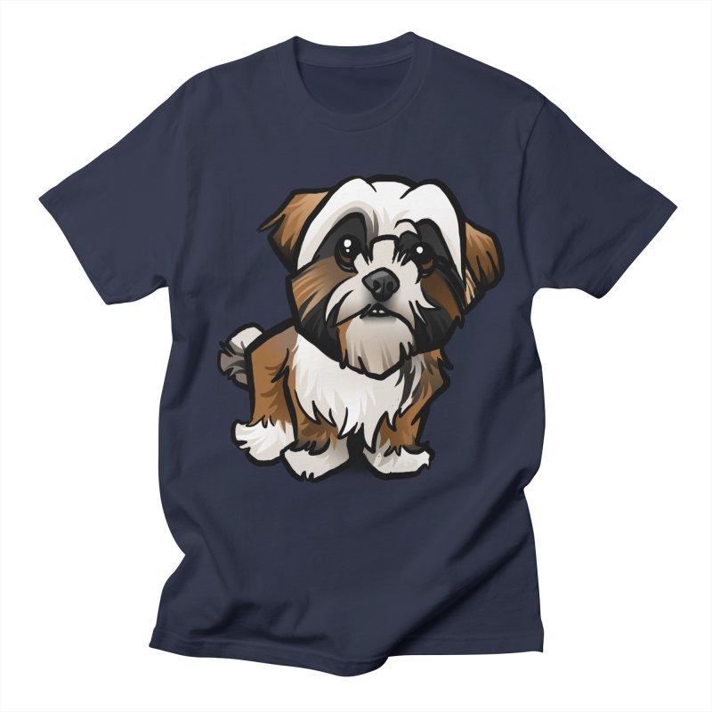 Shih Tzu Women's Unisex T-Shirt by binarygod's Artist Shop