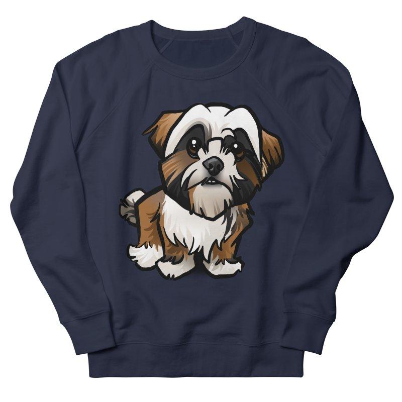 Shih Tzu Men's Sweatshirt by binarygod's Artist Shop