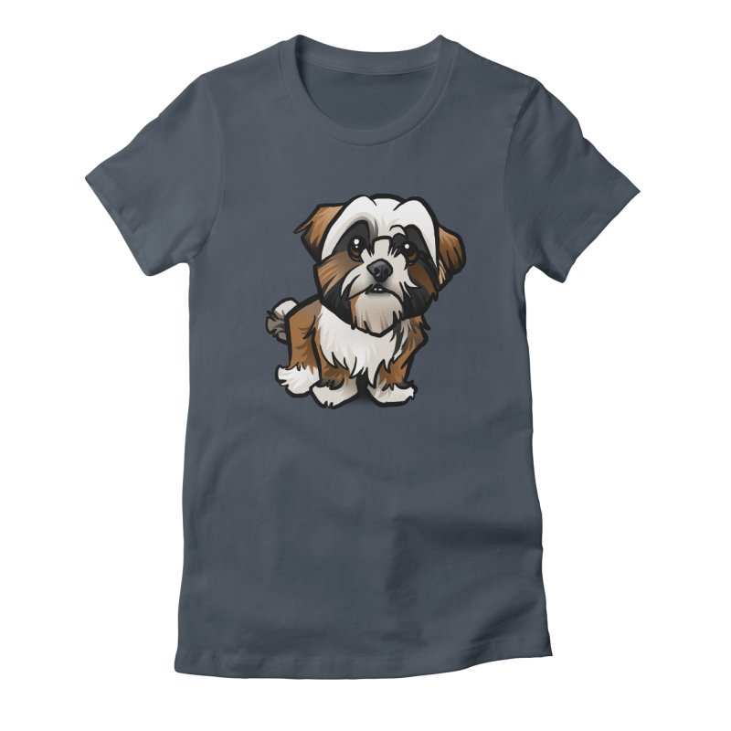 Shih Tzu Women's T-Shirt by binarygod's Artist Shop