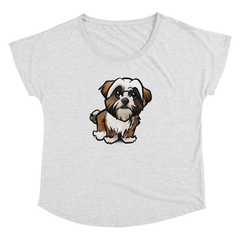 Shih Tzu Women's Dolman by binarygod's Artist Shop