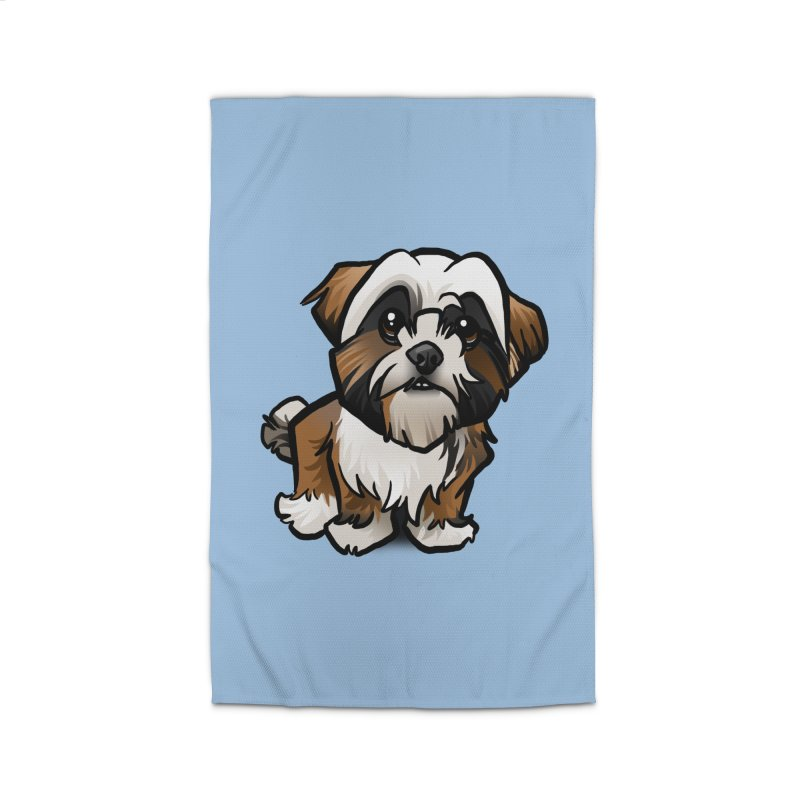 Shih Tzu Home Rug by binarygod's Artist Shop