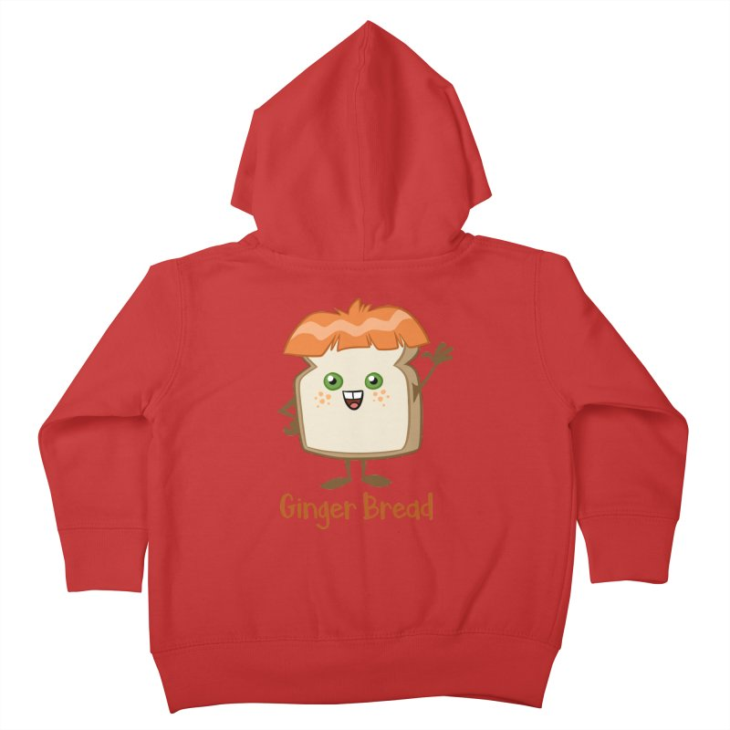 Ginger Bread Kids Toddler Zip-Up Hoody by binarygod's Artist Shop