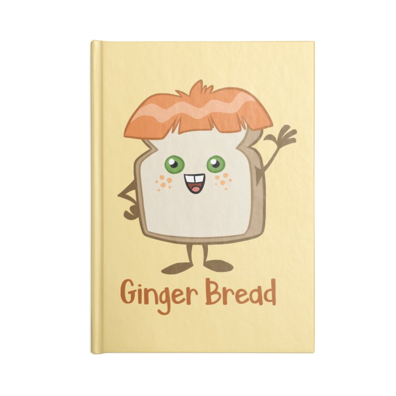 Ginger Bread Accessories Notebook by binarygod's Artist Shop