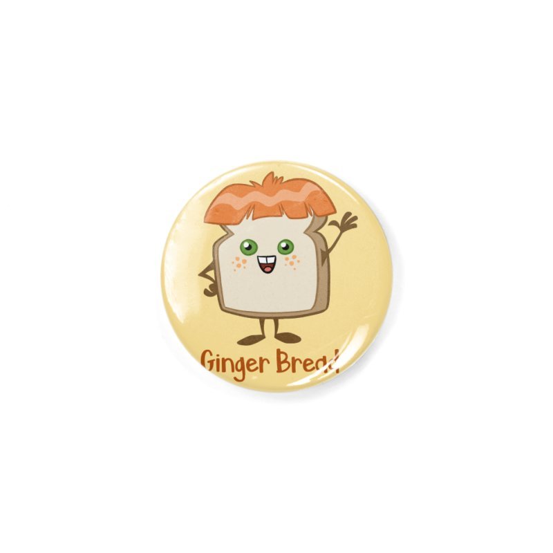 Ginger Bread Accessories Button by binarygod's Artist Shop