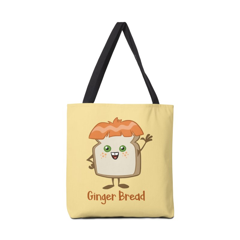 Ginger Bread Accessories Bag by binarygod's Artist Shop
