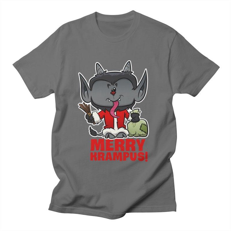 Merry Krampus Women's T-Shirt by binarygod's Artist Shop