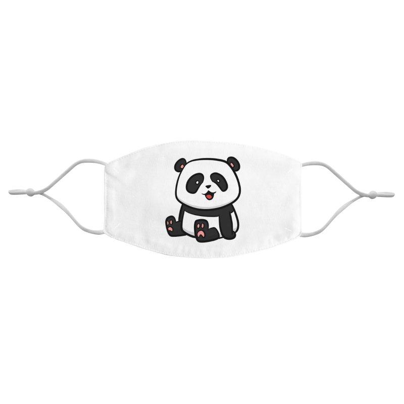 Kawaii Panda Accessories Face Mask by binarygod's Artist Shop