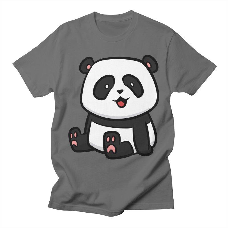 Kawaii Panda Women's T-Shirt by binarygod's Artist Shop