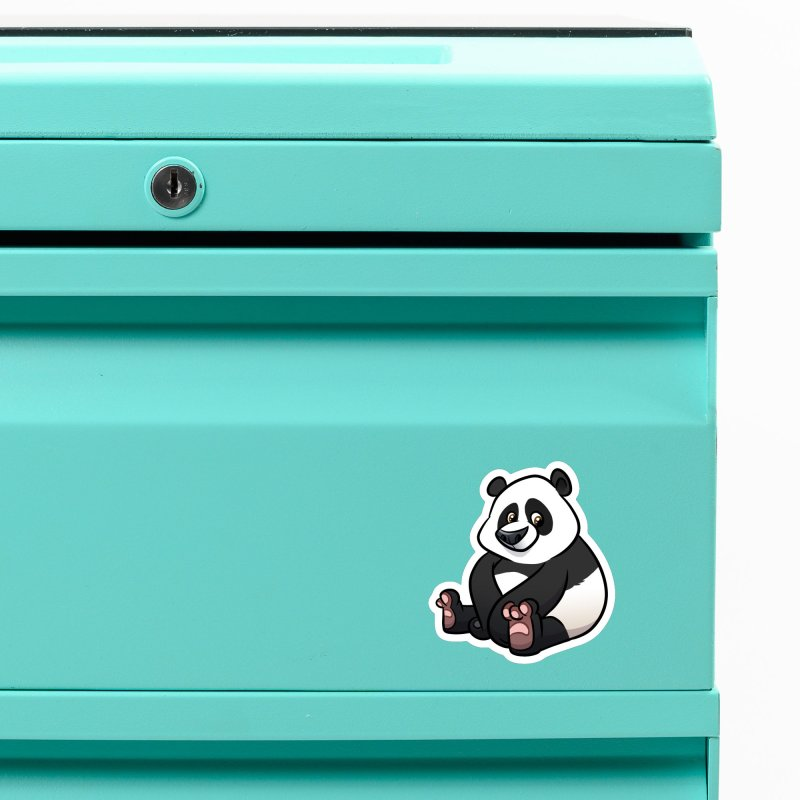 Giant Panda Accessories Magnet by binarygod's Artist Shop