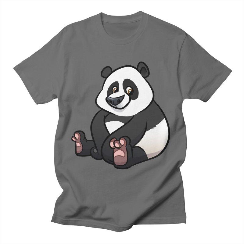 Giant Panda Men's T-Shirt by binarygod's Artist Shop
