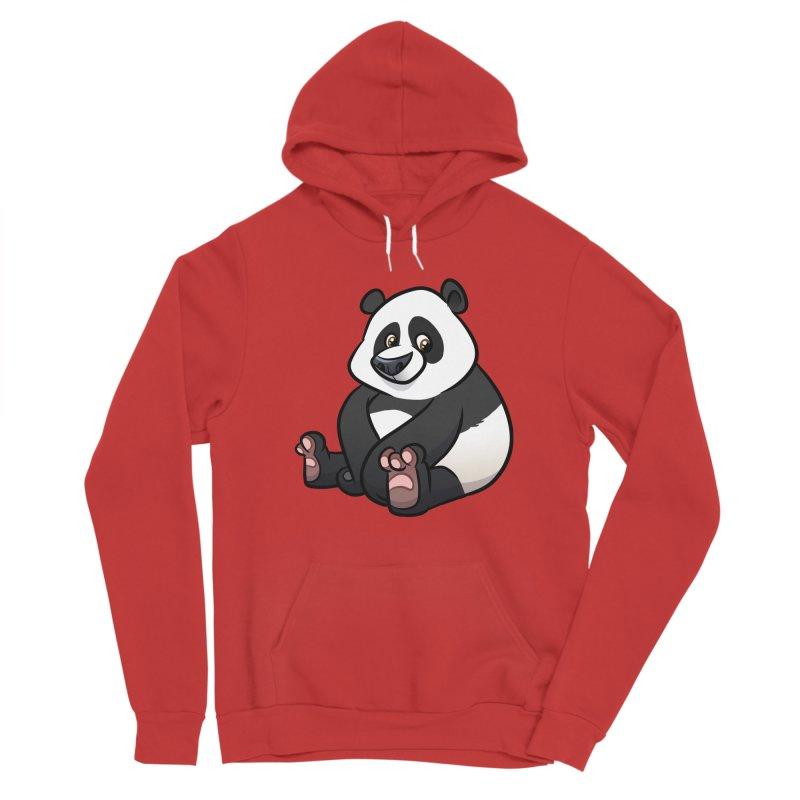 Giant Panda Women's Pullover Hoody by binarygod's Artist Shop