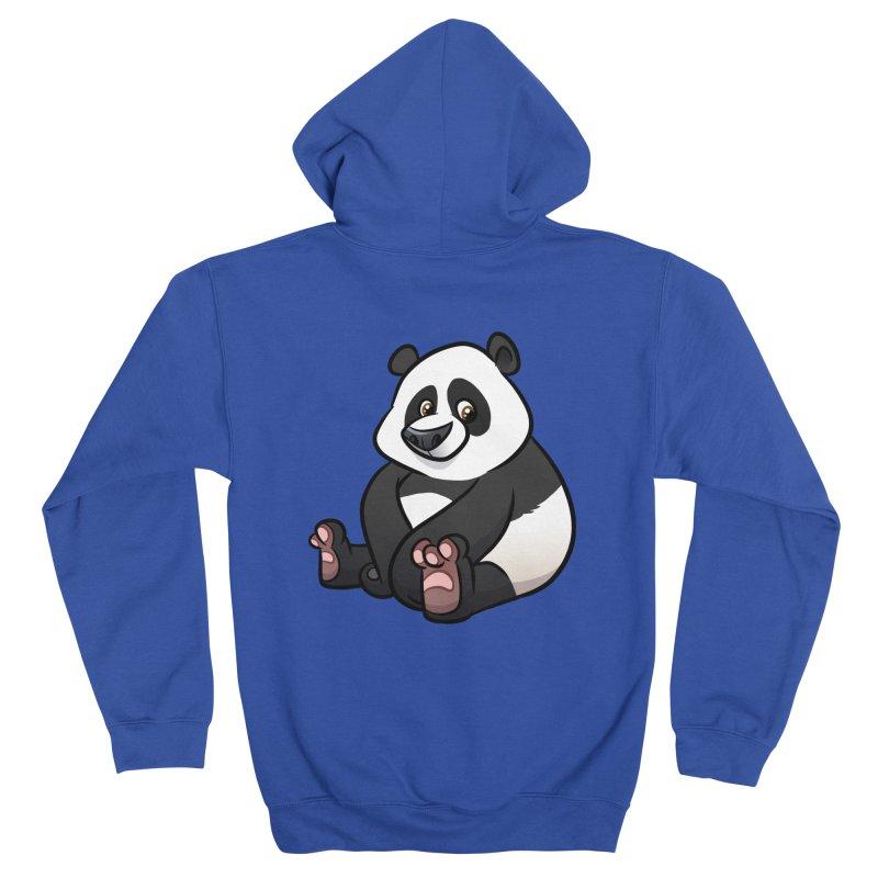 Giant Panda Men's Zip-Up Hoody by binarygod's Artist Shop