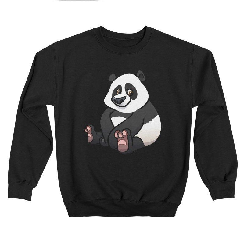 Giant Panda Men's Sweatshirt by binarygod's Artist Shop