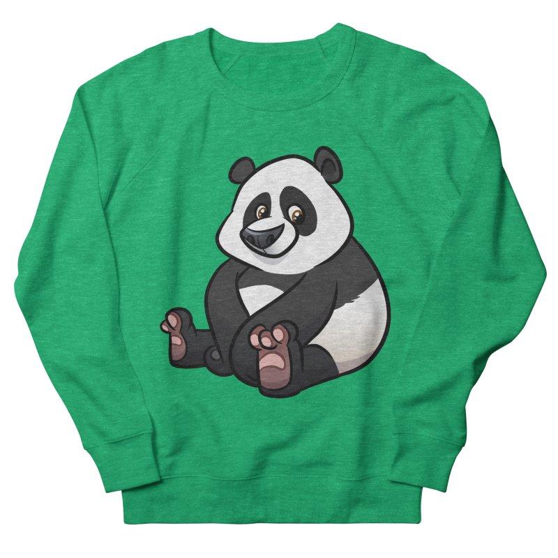 Giant Panda Women's Sweatshirt by binarygod's Artist Shop