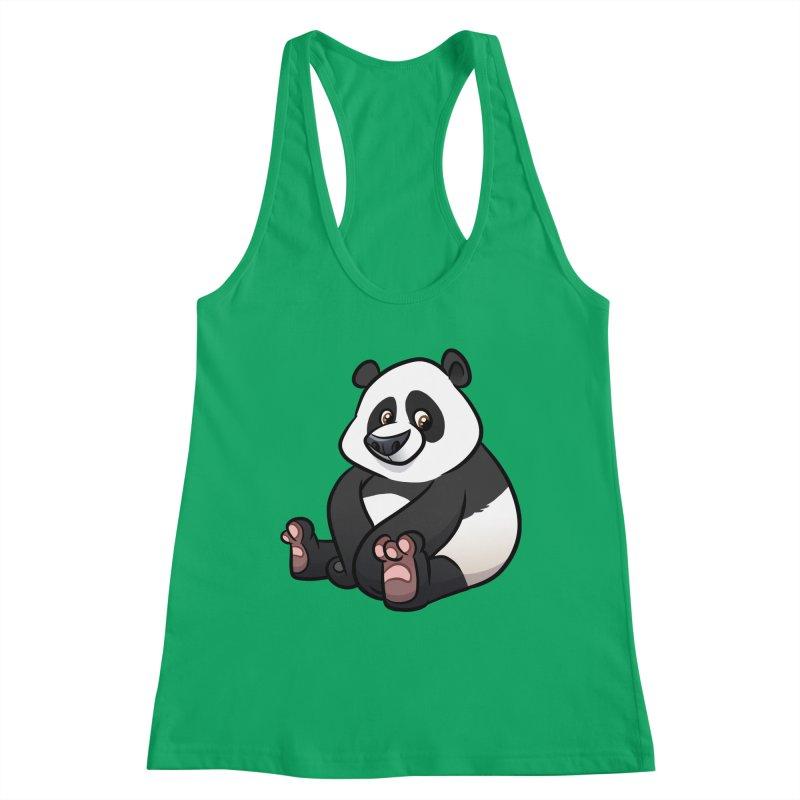 Giant Panda Women's Tank by binarygod's Artist Shop