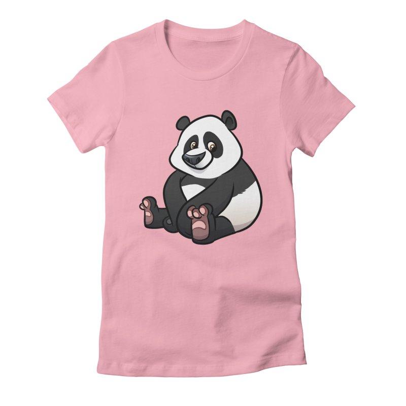 Giant Panda Women's T-Shirt by binarygod's Artist Shop