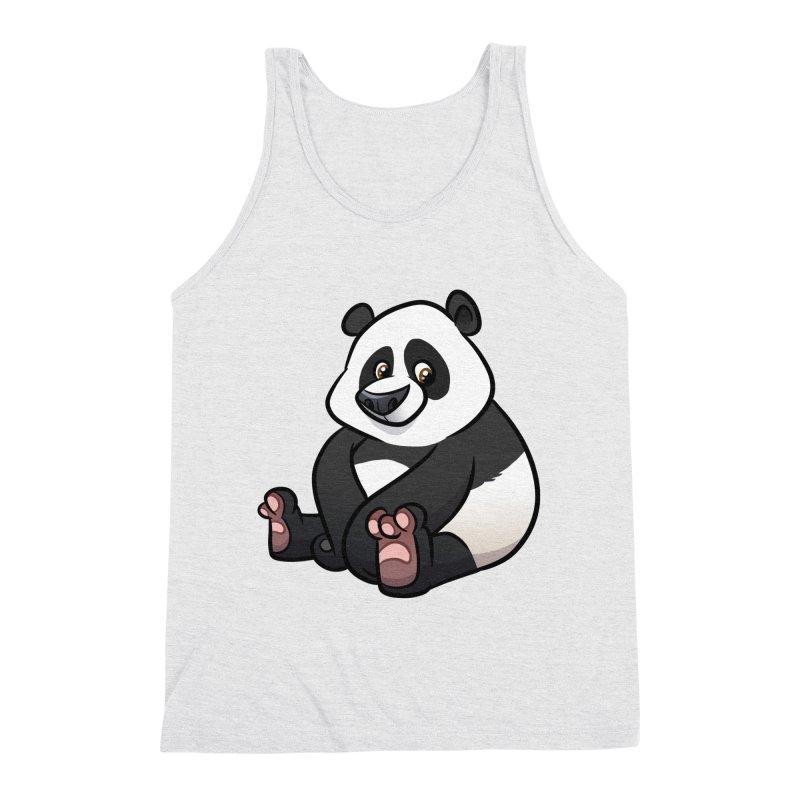 Giant Panda Men's Tank by binarygod's Artist Shop