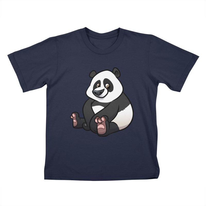 Giant Panda Kids T-Shirt by binarygod's Artist Shop