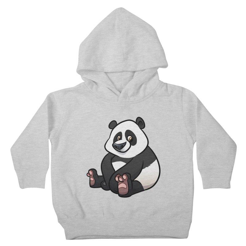 Giant Panda Kids Toddler Pullover Hoody by binarygod's Artist Shop