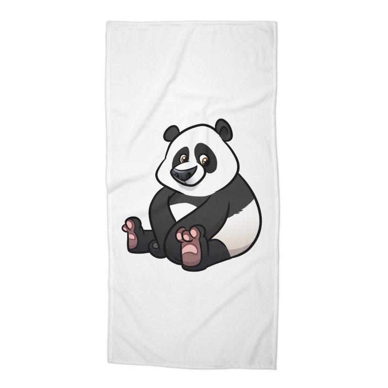 Giant Panda Accessories Beach Towel by binarygod's Artist Shop
