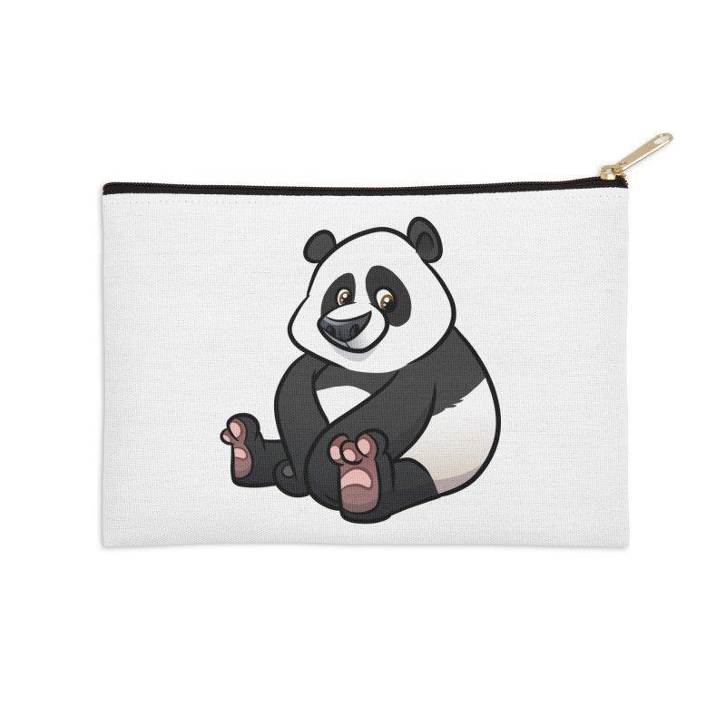 Giant Panda Accessories Zip Pouch by binarygod's Artist Shop