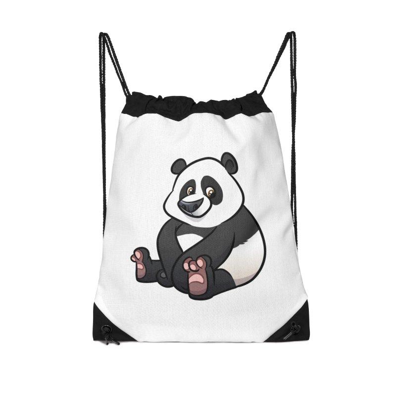 Giant Panda Accessories Bag by binarygod's Artist Shop