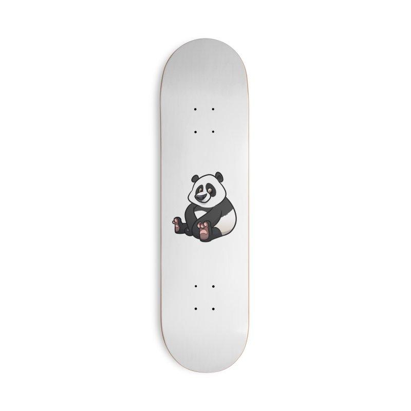 Giant Panda Accessories Skateboard by binarygod's Artist Shop