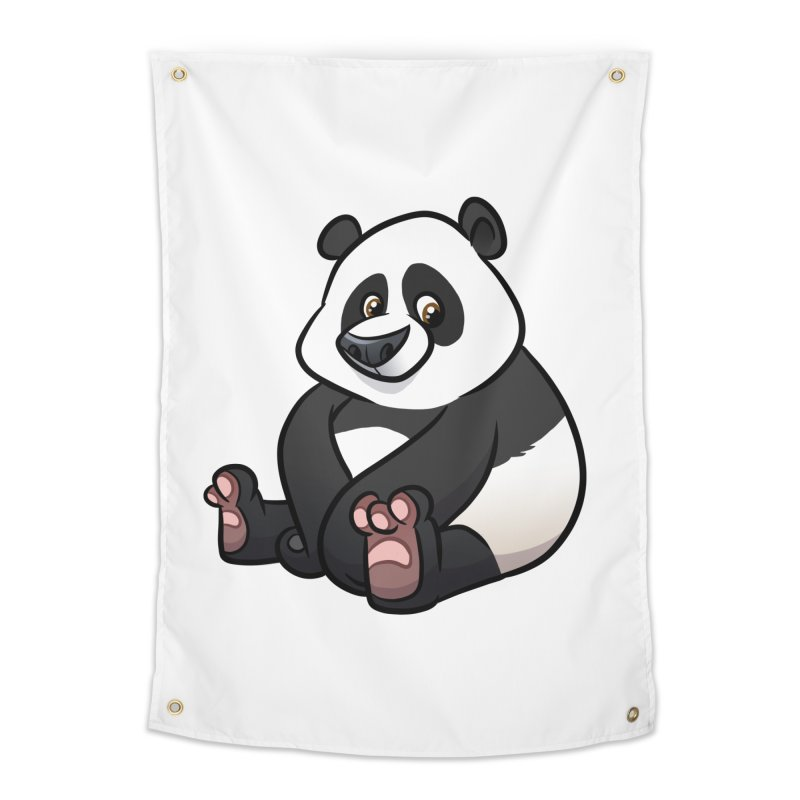 Giant Panda Home Tapestry by binarygod's Artist Shop