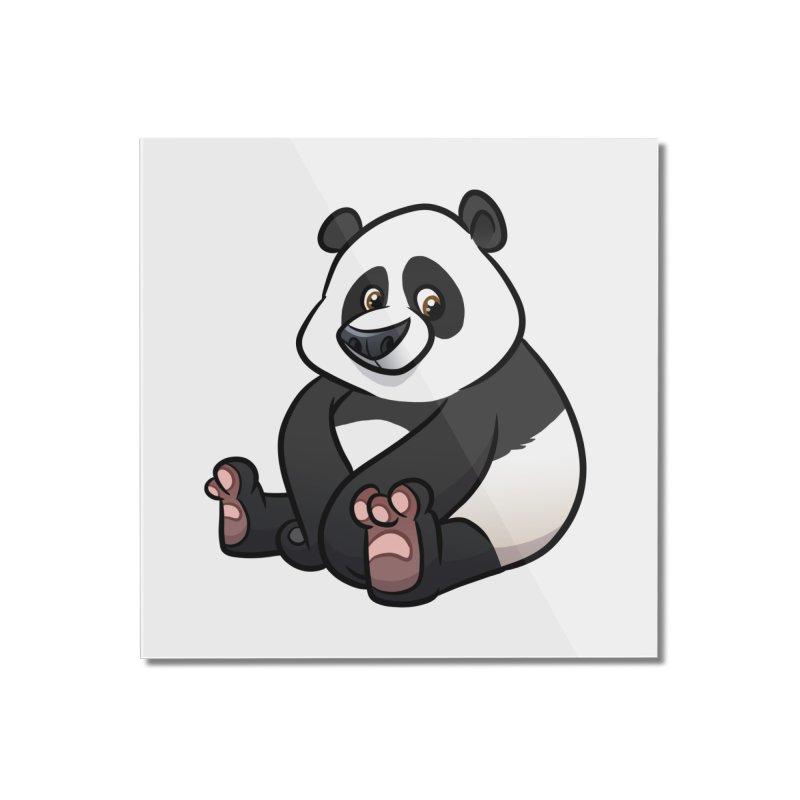 Giant Panda Home Mounted Acrylic Print by binarygod's Artist Shop